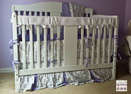 Jojo Crib Bedding Lavender And Gray Elizabeth Baby Bedding 9pc Crib Set By Sweet