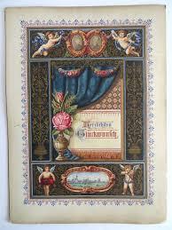 hochzeitstage jubilã um prachtvolle schmuckurkunde hochzeitstag jubiläum 1887