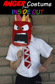 dapper halloween costumes diy anger from inside out costume costumes halloween costumes