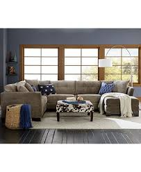 Elliot Sofa Bed Elliot Fabric Sectional Living Room Furniture Collection Created