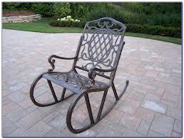 Metal Patio Rocking Chairs Metal Rocking Chairs Outdoor Metal Outdoor Rocking Chairs Vintage