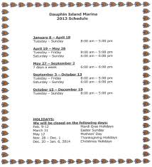 we will be closed on thanksgiving day hours of operation archives dauphin island marinadauphin island