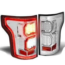 2015 ford f150 tail lights ford f150 2015 2017 clear led tail lights outline a135hsxt109