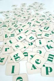 100 pcs mixed letter tiles lot letter mix game pieces