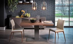 extending rectangular wooden table elvis wood drive by cattelan italia