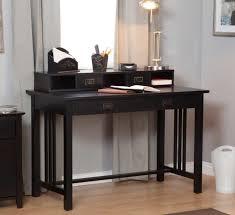 Black Writing Desk With Hutch Furniture Astonishing Schemes Of Writing Desk With Hutch As The