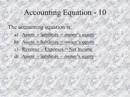 accounting skills test review ppt video online download