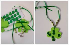 shamrock ribbon 10 st s day crafts for kids the chirping