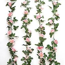 artificial flower jinway 2pcs 16ft vine garland artificial