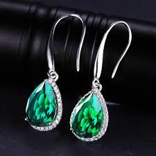 emerald drop aliexpress buy jewelrypalace luxury 5 4ct nano russian