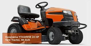 best reviews for husqvarna yth24v48 24 hp riding lawn mower 2017