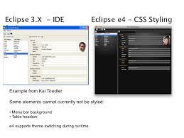 eclipse theme switcher eclipse e4