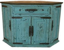 antique corner tv cabinet santa fe antique turquoise rustic corner tv stand projects to try