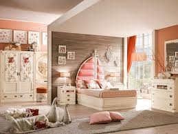 chambre peche design interieur aménagement chambre enfant peinture murale pêche