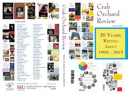 crab orchard review vol 20 no 2 s f 2015 by crab orchard review