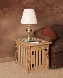 amish made dog crate furniture