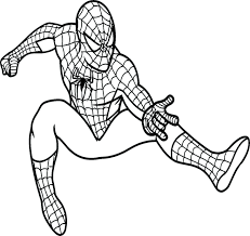 black spiderman coloring pages free lego dis images