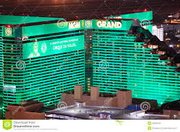 mgm grand casino and hotel editorial image image 28880330