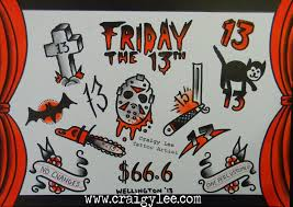 friday the 13th tattoos san antonio tattoo collections