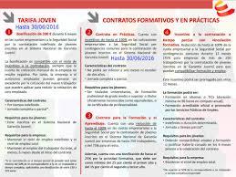 bonificaciones contratos 2016 garantia juvenil on twitter aviso empresas estáis a tiempo de
