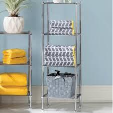Bathroom Shelf Organizer by Free Standing Bathroom Shelving You U0027ll Love Wayfair