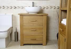 Oak Bathroom Cabinet Classic Oak Bathroom Cabinets With Green Walls Bathroom