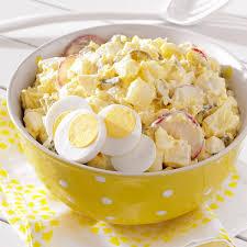deli style potato salad recipe taste of home