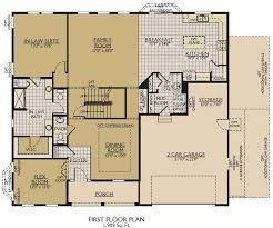 Fox And Jacobs Floor Plans Jensen Ii Floor Plans William Ryan Homes