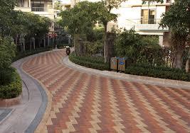 quanzhou olympic garden china brick pavers