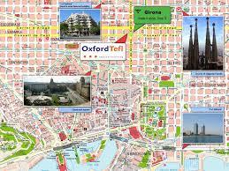 Barcelona Metro Map by Barcelona Tourist Map Barcelona Spain U2022 Mappery