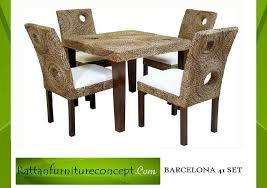 rattan kitchen furniture manufacturer of wicker and rattan chairs from indonesia