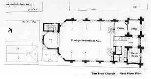 Church Floor Plans Free St Ives Free Church Book A Room