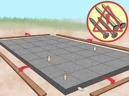 how to place and finish a concrete floor with pictures wikihow
