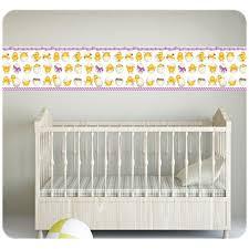 frise pour chambre bébé stickers frises adhésives pour chambres bébés et enfants