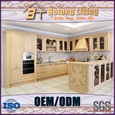 botong living kc sw02 unfinished wooden kichen cabinets whole sale