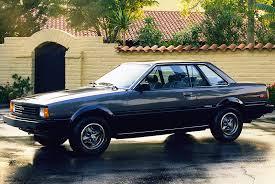 toyota corolla 83 1980 1983 toyota corolla sr5 coupe cars today