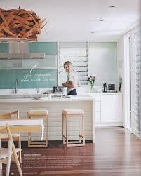 The Coastal Kitchen - coastal kitchen design with modern space saving design coastal