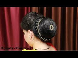 hairstyle joora video hairstyle how to do a simple indian jura bun youtube