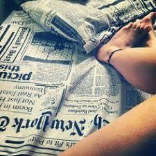 Newsprint Comforter English Newspaper Bedding Comforter Set Twin Full Queen Size