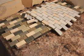 Kitchen Backsplash Installation by Kitchen Design Ideas Peel And Stick Subway Tile Backsplash