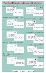 wedding invitation etiquette how to address wedding invitations