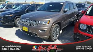 mac haik dodge chrysler jeep ram houston tx 2017 jeep grand overland sport utility in houston