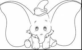 amazing cartoon drawings of disney characters dumbo with dumbo