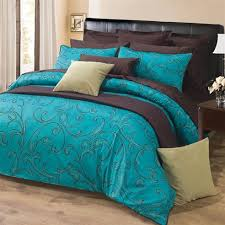 Brown And Cream Duvet Covers 61 Best Turquoise And Brown Bedding Images On Pinterest Brown