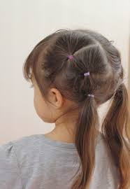 hair styles in two ponies 40 cool hairstyles for little girls on any occasion rope twist