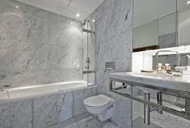 Bathroom Tile Ideas White Carrara by Living Room Metro White Carrara Marble Effect Bevelled Tiles