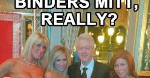 Monica Lewinsky Meme - political memes bill clinton binders full of women iii