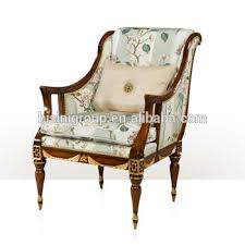 Victorian Armchair Graceful Antique Victorian Armchair With Golden Highlights And
