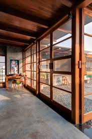 bureau beton ciré design interieur bureau maison terrasse murs sol beton cire