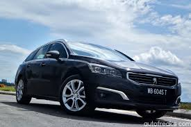 peugeot 508 2015 test drive review peugeot 508 sw thp lowyat net cars